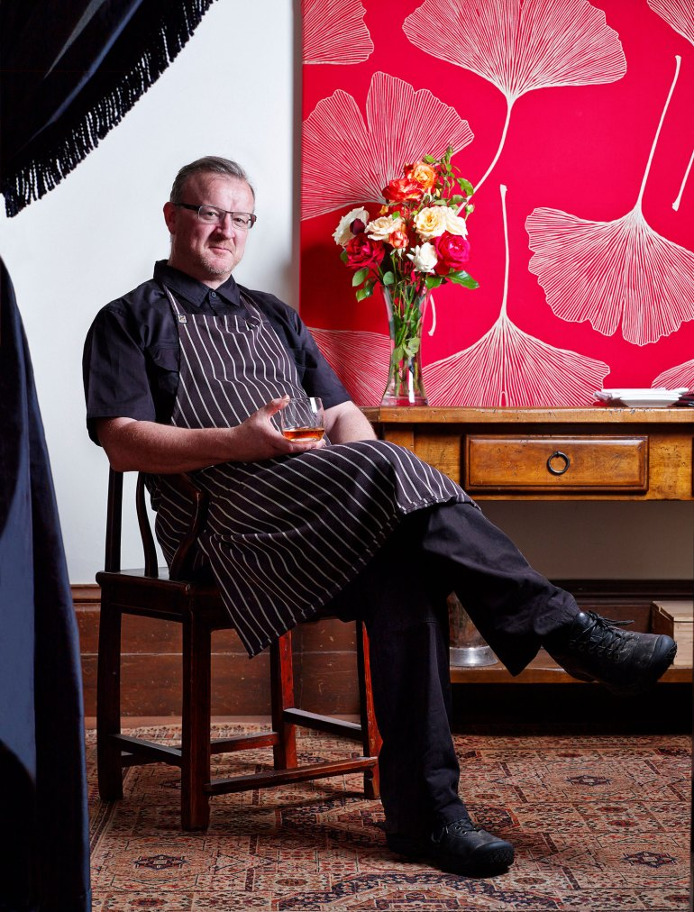 Chef/owner of The Provenance restaurant, Beechworth, Victoria