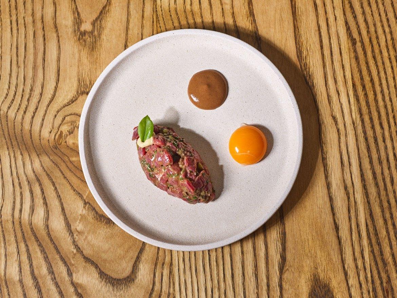 French Saloon's iconic Steak Tartar