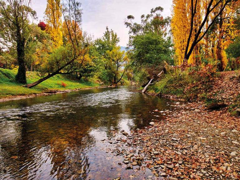 The Ovens River and Bright's Canyon Walk is at your door step