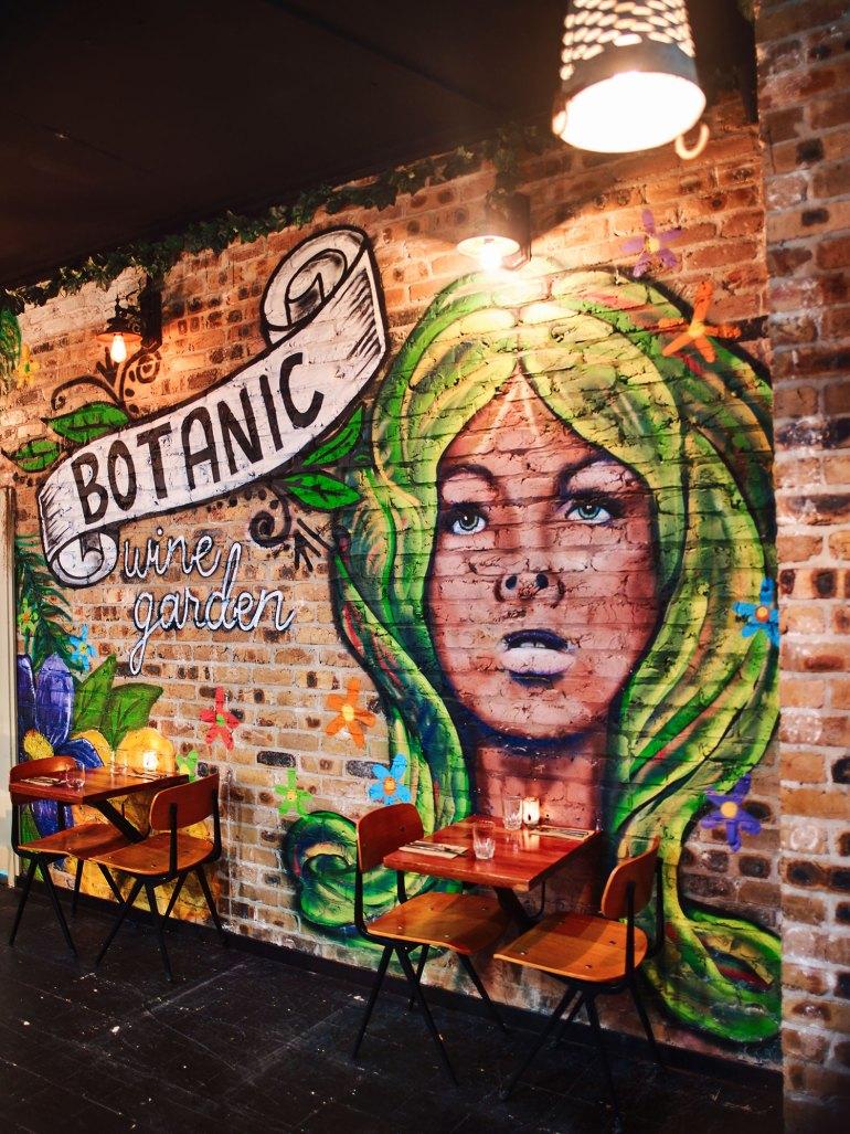 Botanic Wine Bar Mural