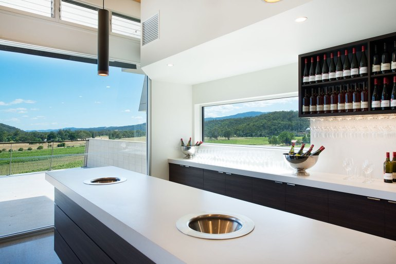 Tasting room at Chrismont Wines, King Valley