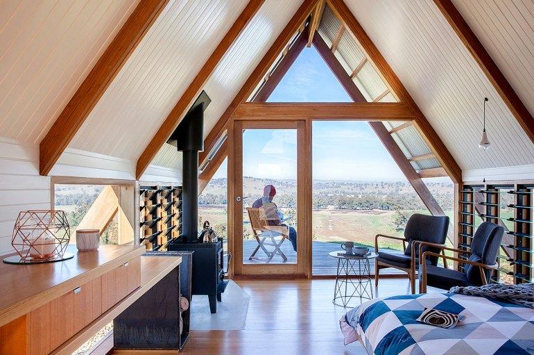 Kimo Estate Eco Hut, Photo graphy: Hilary Bradford