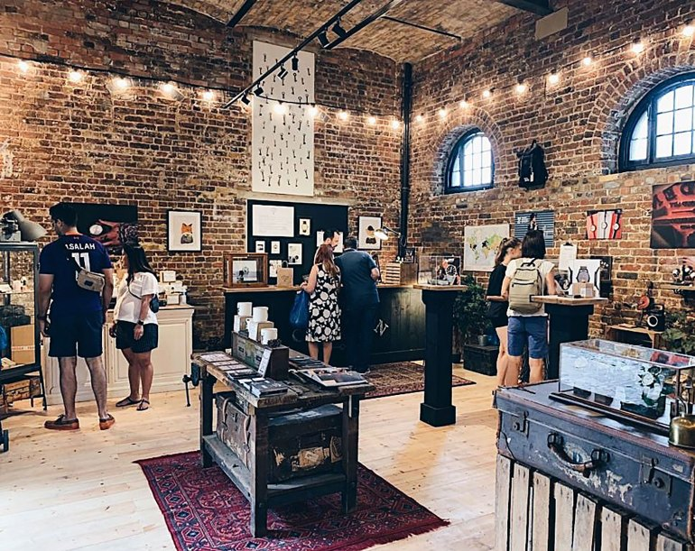 The flagship store based in the Camden Stables Market