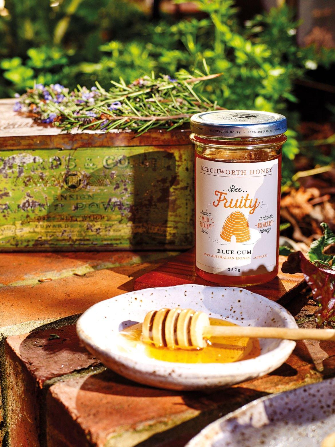 Beechworth Honey's Bee Fruity Blue Gum Honey