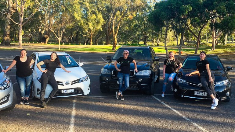The team at Rustik Café & Foodstore, Benalla geared up for home deliveries