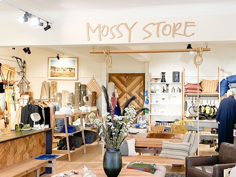 Mossy Store - one of the many lifestyle store destinations in Moss Vale