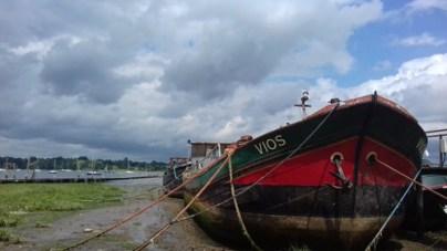 Pin Mill boat