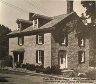 Dr. Samuel Shumway House, Essex, NY (Image Credit: Allan Seymour Everest. Our North Country Heritage: Architecture Worth Saving in Clinton and Essex Counties. 130)