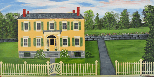 Rosslyn in Essex, NY (Painted by Mary Wade)