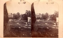 Stereoview image of Noble Clemons House, Essex, NY