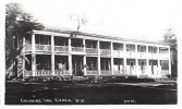 """This old postcard reads: """"Colonial Inn, Essex, NY."""" (Thank you Mary Wade for sharing.)"""