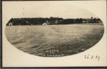 Postcard featuring a photo of Essex on Lake Champlain, taken in 1909.