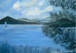 Whallons Bay Painting by Barbara Irish Smith