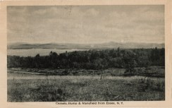"""Vintage Postcard reads: """"Camel's Hump & Mansfield from Essex, NY"""""""