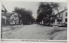 Main Street Looking South, Essex, NY (Credit: Unknown; Shared by Susie Drinkwine)