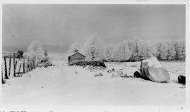 The old sugar shack at Reber Rock Farm circa 1950. (Credit: Unknown)