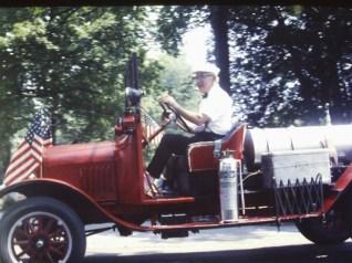 Essex Memorial Day Parade 1971: Vintage Car (Credit: Harry and Judy Koenig)