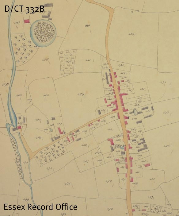 Tithe map of Stebbing (D/CT 332B)