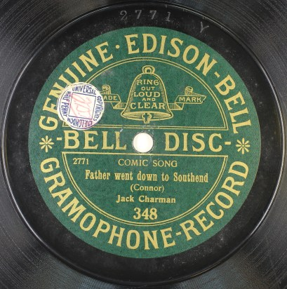 Bell disc 348 - label