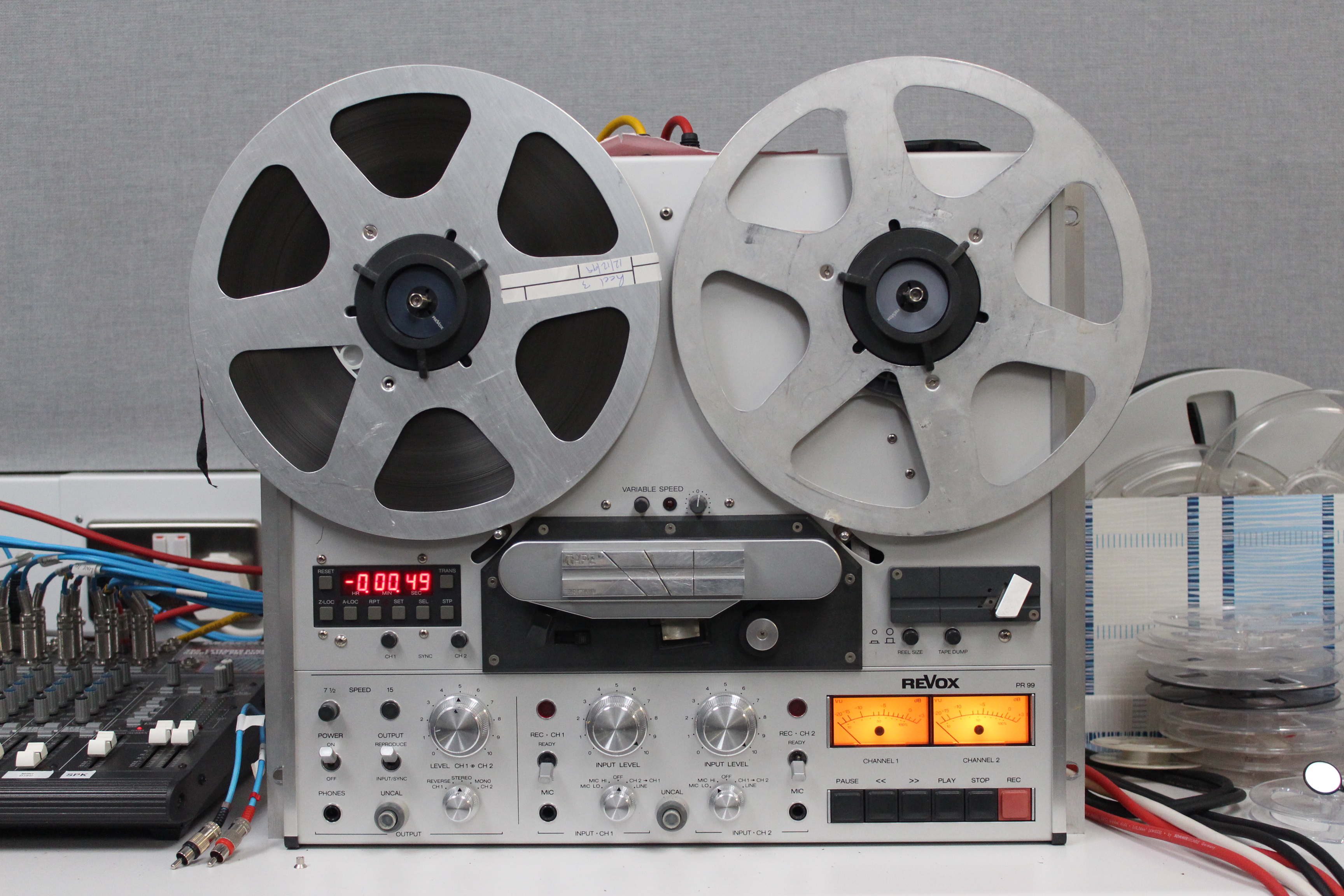 sound and video archive  