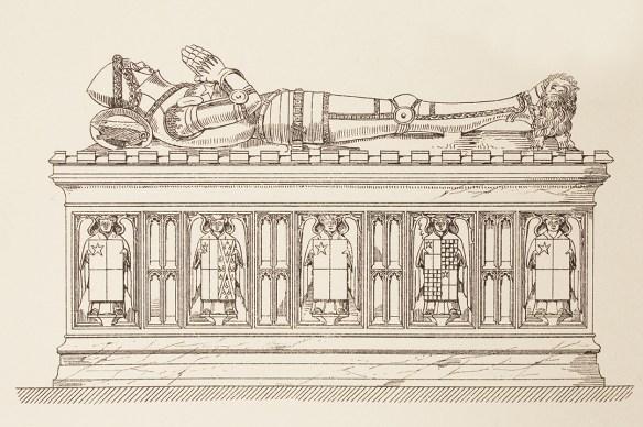 Richard de Vere effigy
