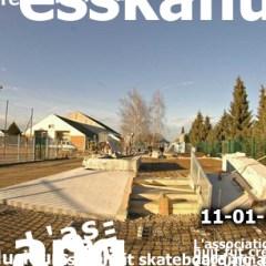Travaux skatepark wittenheim janvier 2008
