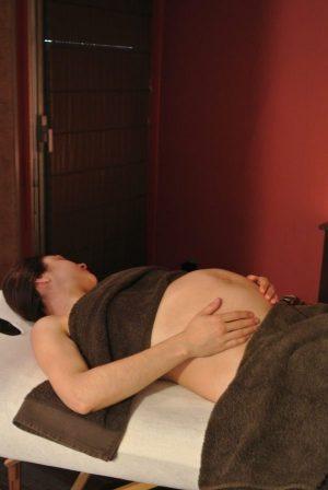 Massage future ou jeune maman.