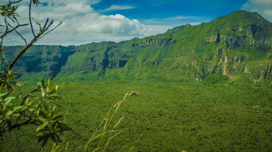 Rich Vegetation Around Mount Kenya