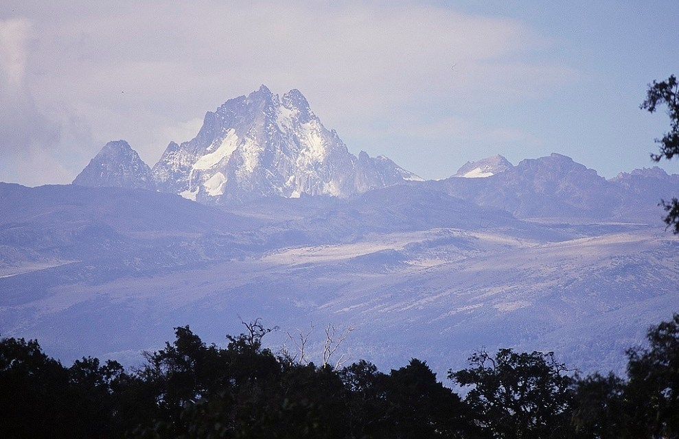Mount Kenya From A Distance
