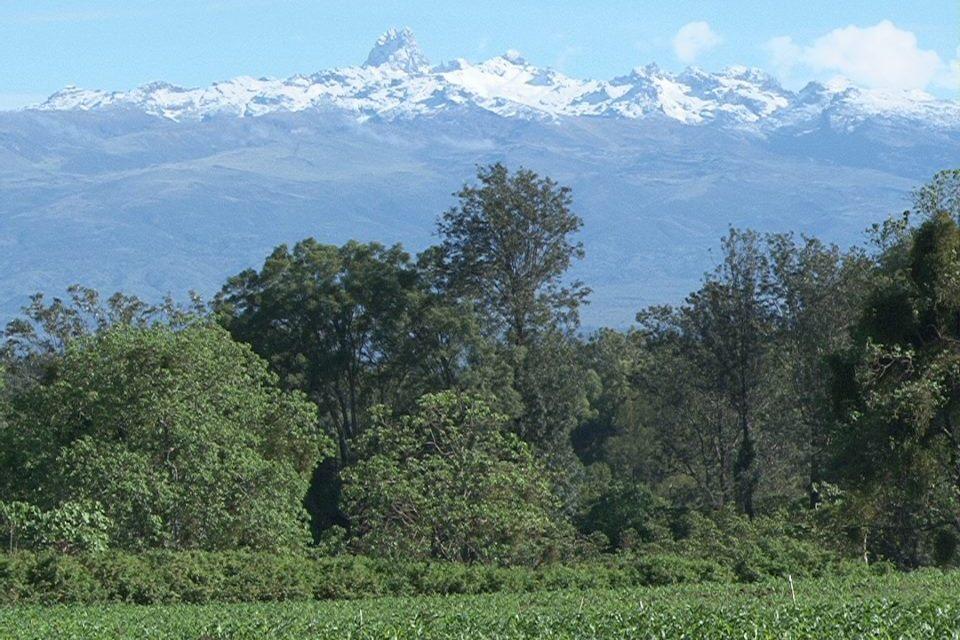 Facing Mount Kenya