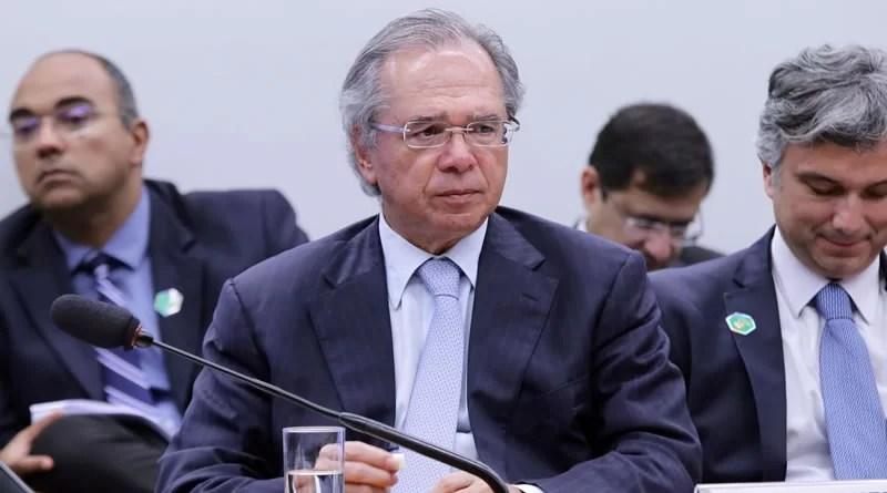 ministro da Economia Paulo Guedes.