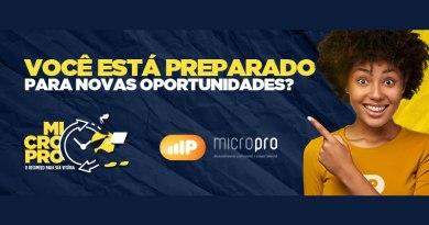 MicroPro – escola de desenvolvimento profissional e comportamental – lança franquia de baixo investimento para a Baixada Santista, com parcelamento da taxa de franquia para novas unidades