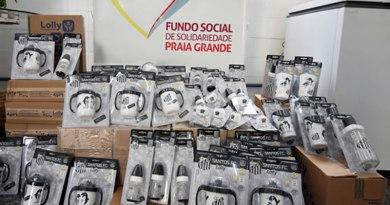 Santos Futebol Clube doa chupetas e mamadeiras para o Fundo Social de Praia Grande