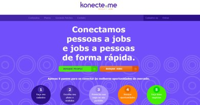 Konecte.me aproxima profissionais a vagas de trabalho