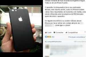 Empresária oferece R$ 10 mil por celular perdido em Ilhabela