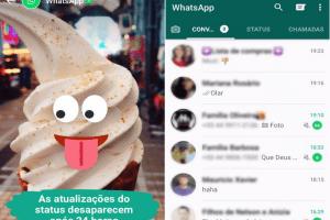 Testamos o Status, novo recurso do WhatsApp