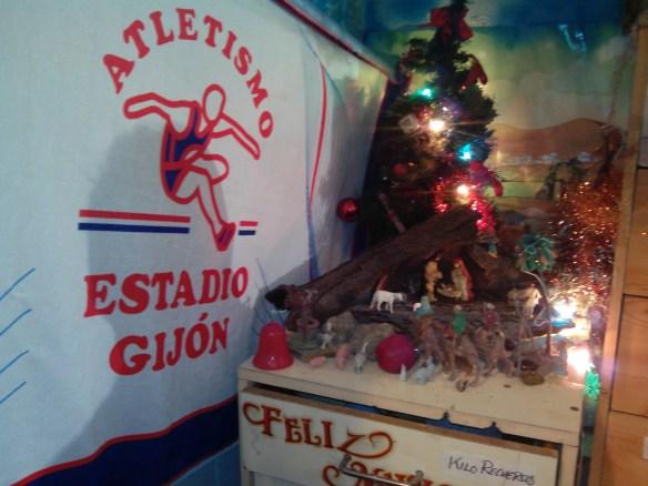 Belén Navidad Estadio Gijón