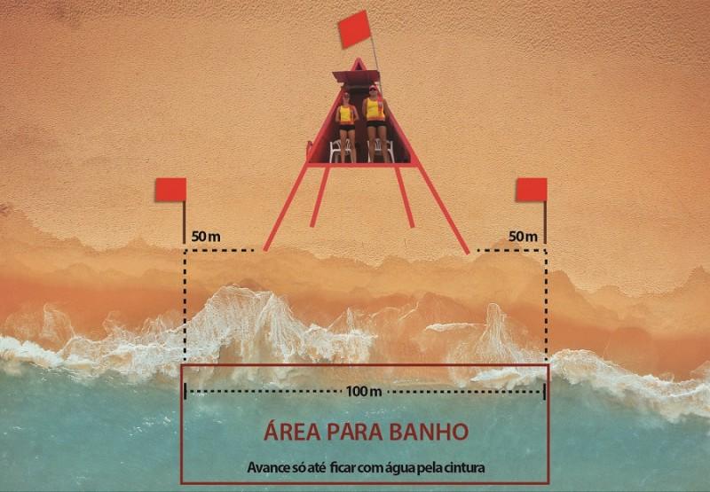 Praia vermelho claro1