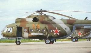 Helicóptero Mi-8. Foto: Especial