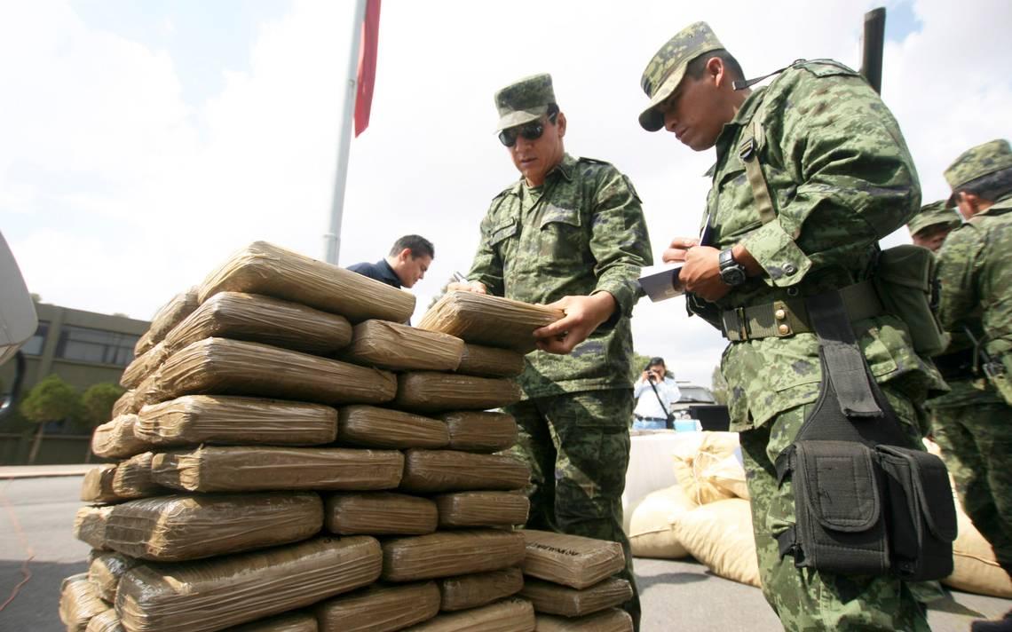 Cinco toneladas de cocaína aseguradas por el Ejército en operaciones en Chiapas