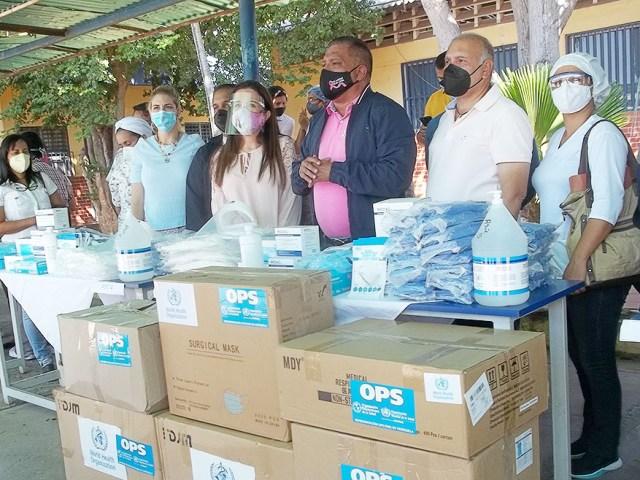 El gobernador Alfredo Díaz, agradeció la dotación de la Organización Panamericana para la Salud