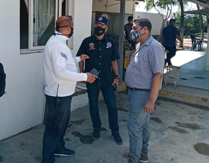 Seguridad en el Mercado de Los Cocos