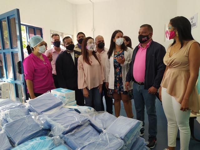 La nueva Unidad de Triaje Respiratorio tiene capacidad para entre 15 y 20 pacientes