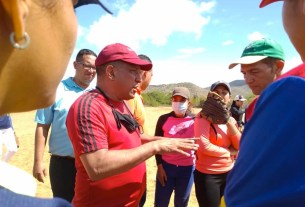 El Gobernador Alfredo Díaz atendió los planteamientos de Vicente Serrano
