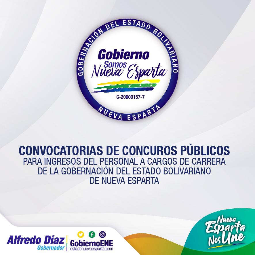 CONVOCATORIA DE CONCURSO PÚBLICOS