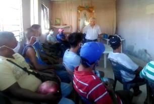 El taller sobre Pesca responsable fue dictado por el experto Walter González