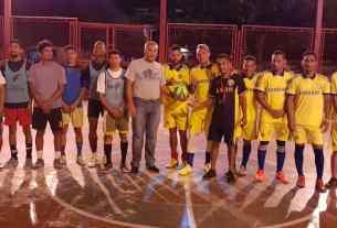 """Diez equipos participan en el torneo """"Alfredo Díaz"""" de fútbol sala"""