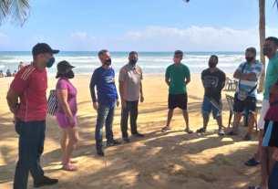 El gobernador Alfredo Díaz garantiza la integridad de quienes asistan a disfrutar de playa Guacuco