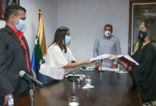 Los integrantes del Clebne recibieron el informe de gestión de la Procuraduría General de Nueva Esparta