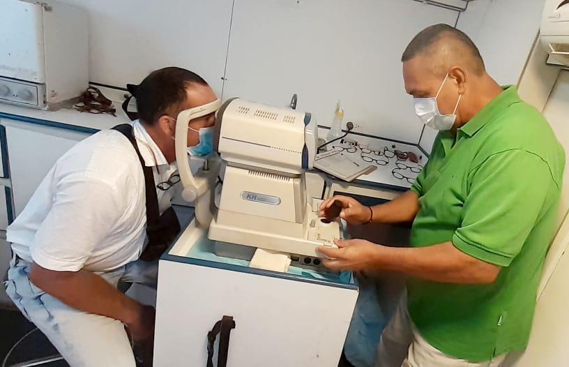El programa Visión saludable brinda atención a cientos de neoespartanos